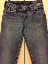 Silver Jeans Ladies Size 27 x 32 Suki Boot Cut Medium Wash Blue Denim - $15.44