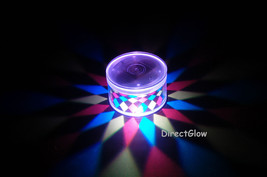 Set of 2 LiteRays LED Light Up Projection LitePod Drink Accessory- Kaleidoscope - $14.50