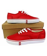 Levi's Women's Classic Premium Atheltic Sneakers Shoes Rylee 524342-01R Red - $36.99