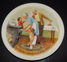 Knowles Bradford Exchange Csatari Grandparent Plate Cookie Tasting 1982 ... - $24.74