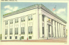 Post Office, Altoona, Pa. - $6.95