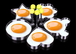 youe shone 5pcs/set Stainless steel Cute Shaped - $21.13 CAD