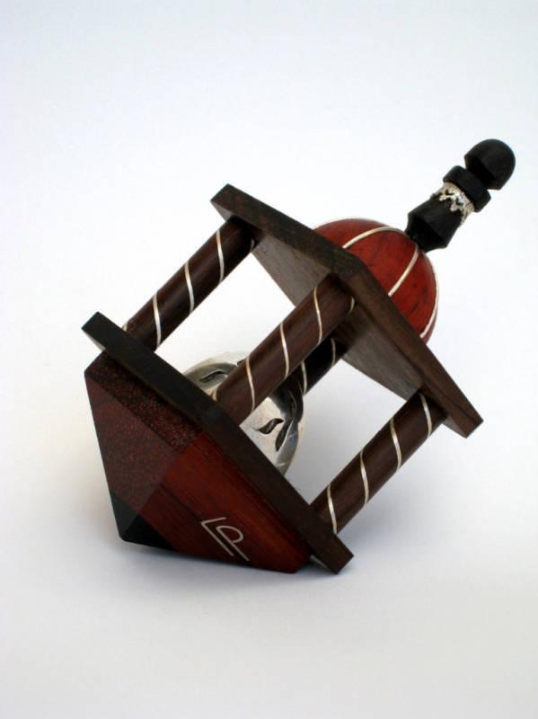 Dreidel Hupah (Red) for The HANUKKA