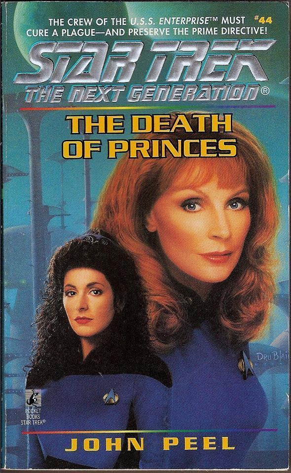 The Death of Princes book 44 Star Trek The Next Generation PB 1996