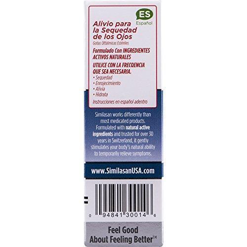 Similasan Dry Eye Relief Eye Drops .33 Ounce