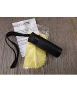 Golf Scope 5X20mm Monocular RangeFinder with Soft Case for Belt by Radio... - $14.00