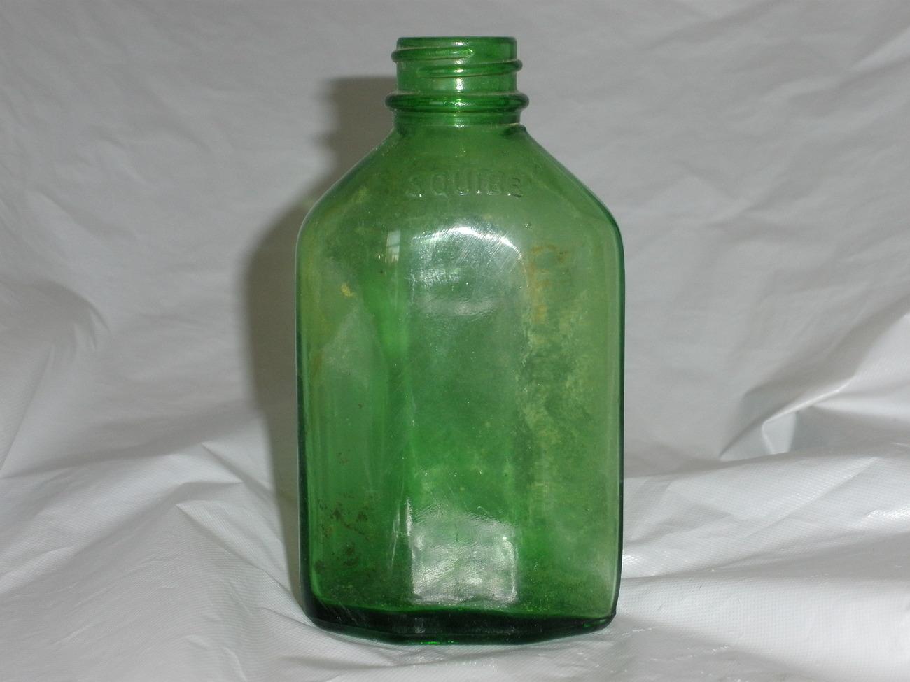 Squibb medicine bottle
