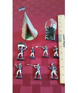 7 Vintage Toy Lead Soldiers and Sentry Guard House  and  Tent - $795.00