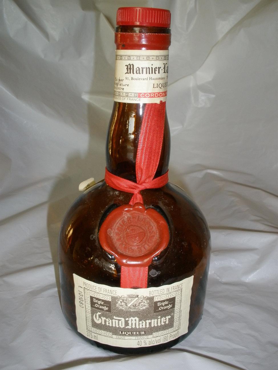Grand mariner bottle 1