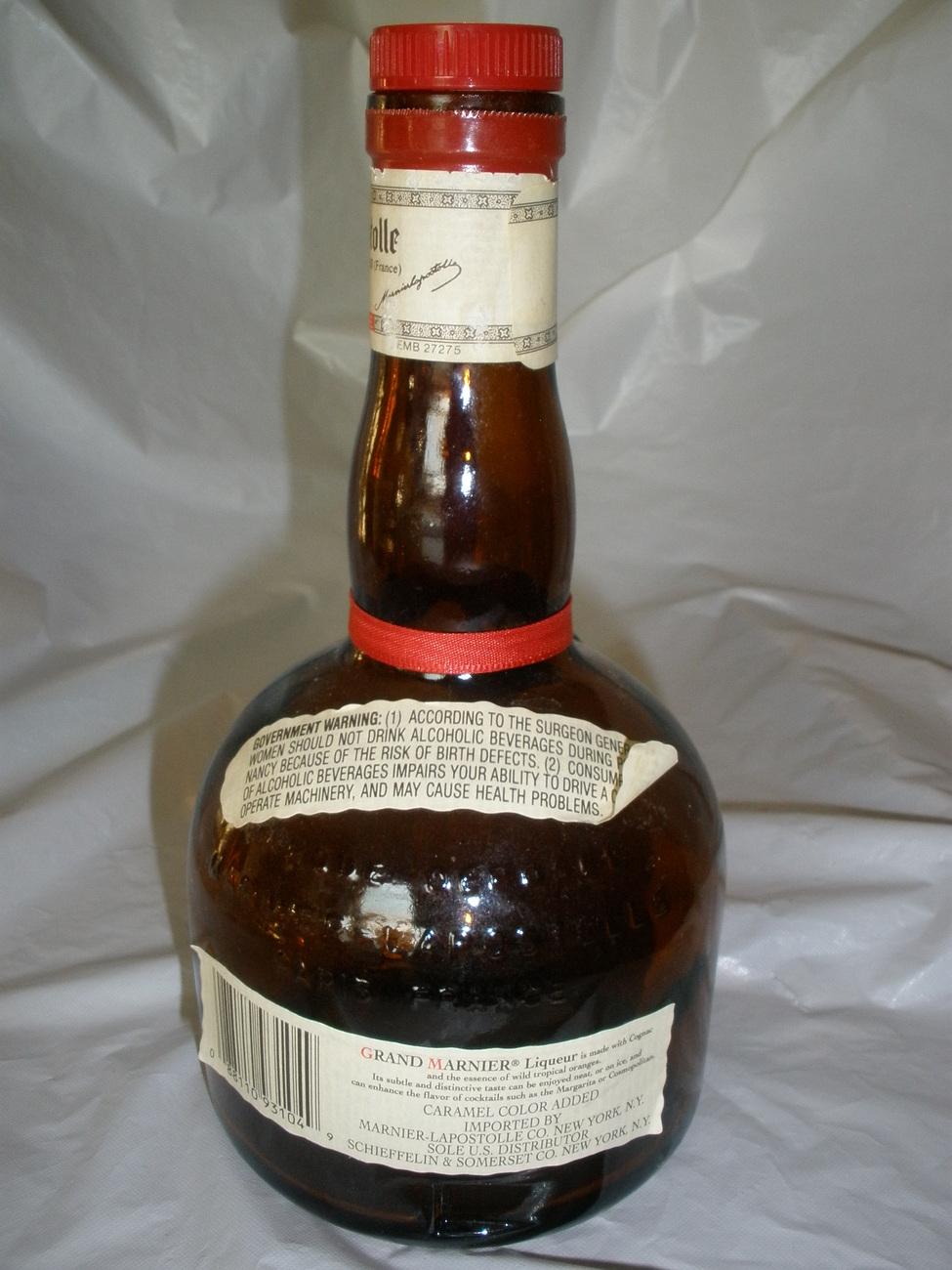 Grand Mariner Bottle