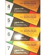 1 PCS, PAON SEVEN-EIGHT HAIR COLOR CREAM TYPE, #4 #5 #6 #7 (Save up to 5%) - $8.50