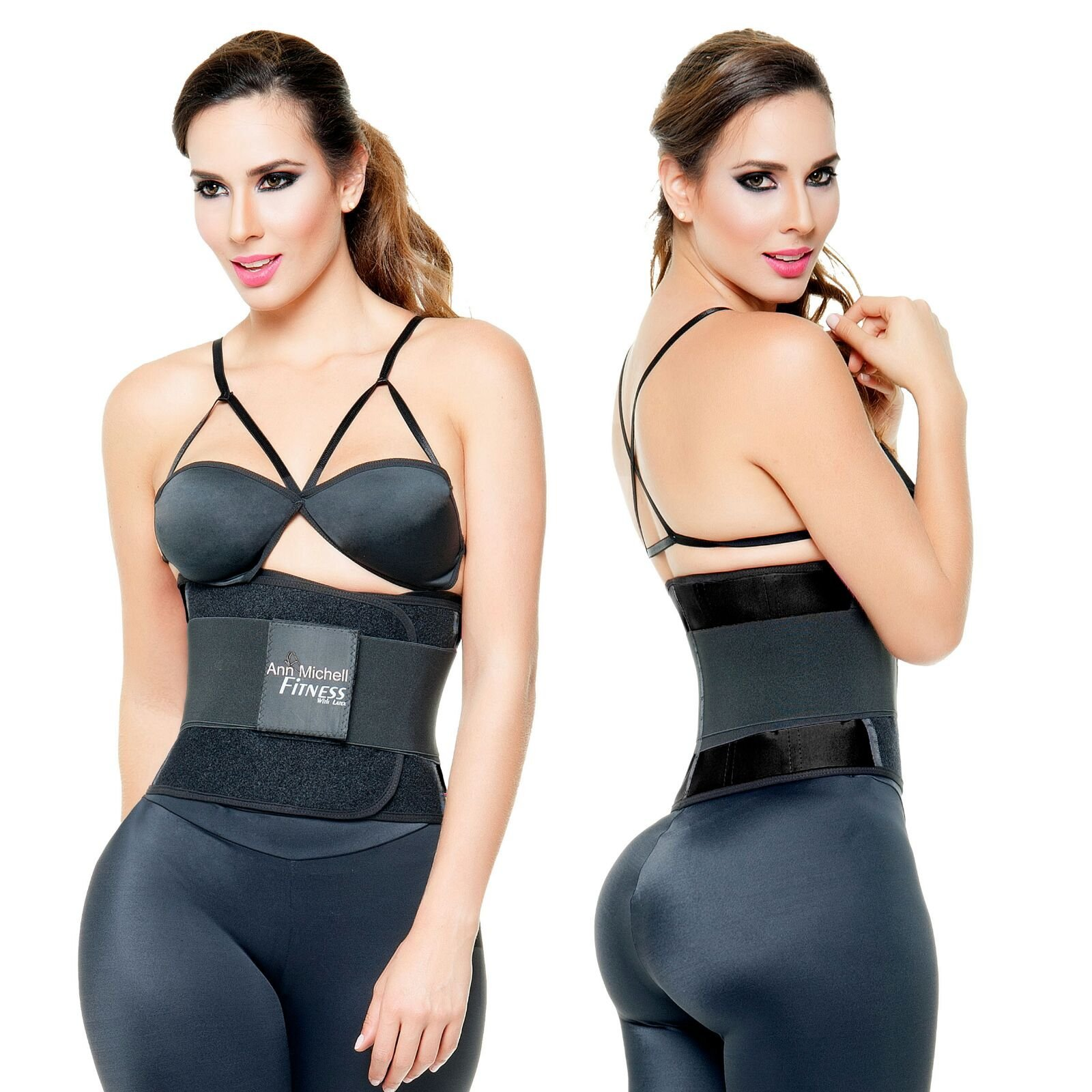 72a1cc8cc7 ANN MICHELL 4025 FITNESS THERMO LATEX XTREME POWER BELT BODY SHAPER GYM  TRAINER -  38.71