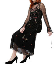 MONSOON Roco Embroidered Midi Dress - $128.51