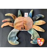 Authentic Rare With Errors!! TY Beanie Baby CLAUDE The Crab In Mint Cond... - $30,000.00