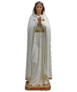 Rosa Mystica Blessed Virgin Mother Mary 66 Inch Statue - $3,999.99
