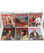 Lot of 6 Cowboys & Indians Magazine 2008 & 2009 Back Issues - $28.00