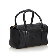 Pre-Loved Gucci Black Others Leather Boston Bag Italy - $447.87