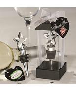 Vineyard Collection Star Design Wine Bottle Stopper Wedding Favor Recept... - $3.81