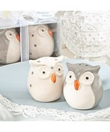 50 Cute Owl Salt Pepper Shakers Set Wedding Favor Party Event Sweet Rece... - $121.11