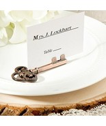 200 Vintage Inspired Skeleton Key Place Card Photo Holders Wedding Favor... - $213.23