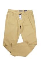 5895-2 Tommy Hilfiger Straight Fit Garment-Dye flat pants Ghurka Tan 34 x 30 $59 - $19.59