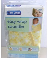 THE FIRST YEARS DELUXE EASY WRAP SWADDLER Yellow with Stars - $11.87