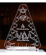 SPECIAL Christmas Tree Thread Palette 10 holes total clear acrylic threa... - $9.50
