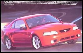 2000 2001 Ford Mustang Cobra SVT ORIGINAL Dealer Brochure - $11.88