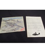 PBM Mariner In Action  Aircraft No. 74 by Bob Smith & PBM Reunion Roster... - $29.81