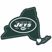 NFL New York NY Jets Home State Auto Car Window Vinyl Decal Sticker - $4.95