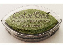 Colorbox Pigment Cat Eye Ink Pad, Moss Green image 2