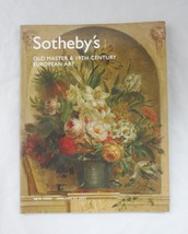 Sotheby's NY Old Masters & 19th Century European Art Catalog Jan 27, 1007 - $14.52