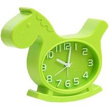 Nostalgia Noiseless Alarm Clock Kids' Birthday Gift Student Clock Green - $19.86