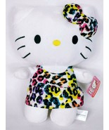 "NWT Hello Kitty Glitter Dress 2016 Fiesta Sanrio Plush Stuffed Animal 11.5"" - $21.38"