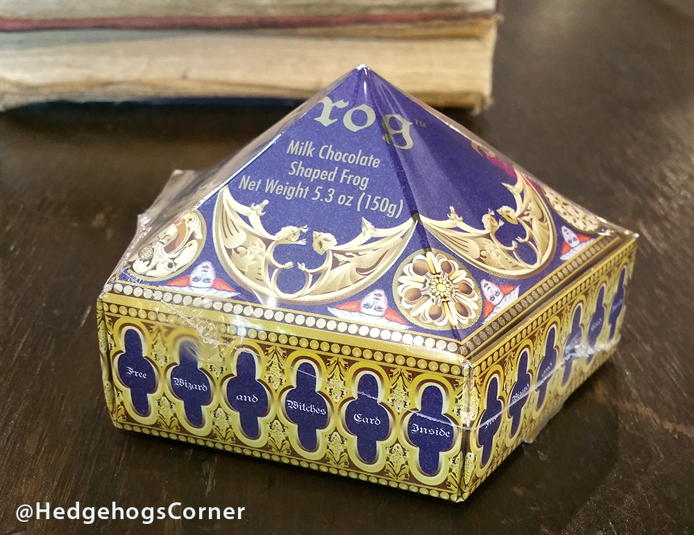 Wizarding World of Harry Potter HoneyDukes Chocolate Frog SEALED Box w/Card