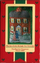1985 - New in Box - Hallmark Christmas Keepsake Ornament -From Our Home to Yours - $3.95