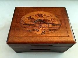 Von Meinem Bergli Lautenbach Walzer Swiss Music Box Thorens Vintage 1/28... - $98.01