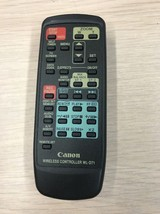 Canon WL-D71 Camcorder Remote Control Tested And Cleaned                    (O6)