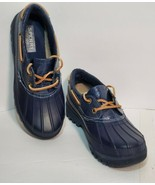 SPERRY TOP-SIDER Women's Navy Blue Waterproof Rubber Shoes Boot /US 6 STS95865 - $32.71