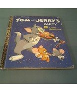 a Little Golden Book~ MGM'S Tom and Jerry~ Fifth Printing 1974 - $3.47