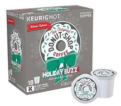 The Original Donut Shop Coffee Holiday Buzz Keurig K-Cups, 18 Count - $9.89