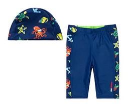 Boys Swimwear Swim Short of Kids Dark Blue, 120 cm (2-3.5 Years) image 2