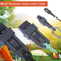 Wellmax Heavy Duty Tarp Clips 12 Pieces, Multi-Purpose Awning Clamps Set with St image 2