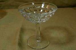 Fostoria American Clear Flared Champagne Tall Sherbet - $5.39