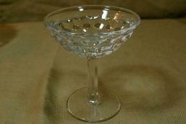 Fostoria American Clear Flared Champagne Tall Sherbet - $5.39