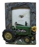 John Deere Tractor Picture Frame - Green Tractor - $9.95