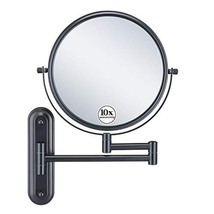 GloRiastar 10X Magnification Wall Mounted Makeup Mirror - Double Sided M... - $80.42