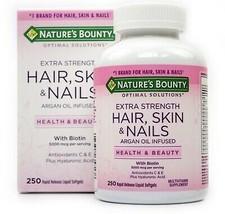 Nature's Bounty Hair, Skin and Nails, 250 Softgels - $27.99