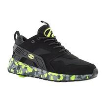 Heelys HE100095H Kid's Force Sneakers, Black/Brightyellow/Confet - 8 - $67.43