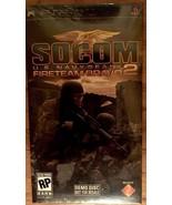 Sony Psp Socom Fireteam Bravo 2 New Demo Disc~ Rare - $9.50